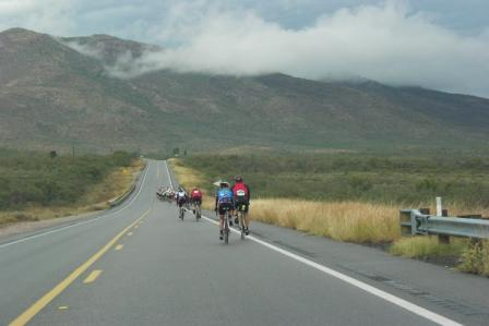 Cyclists in the Cochise County Cycling Classic. Photo courtesy of Mary White.
