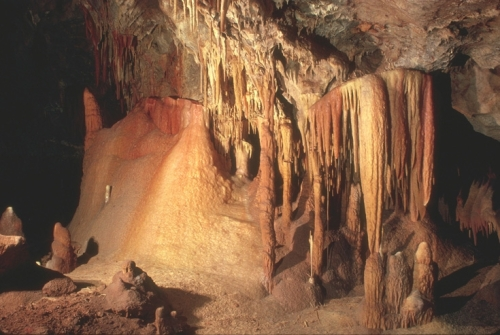 Formations in Kartchner Caverns. Photo (c) Arizona State Parks