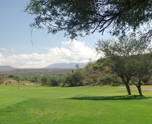Benson's Turquoise Hills Golf Course. Photo courtesy of the Cochise County Tourism Council.