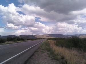 Mountains south of Tombstone, AZ on Hwy 80 (c) Luanne Mattson